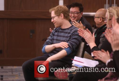 Anthony Rapp and Master Class Students 5