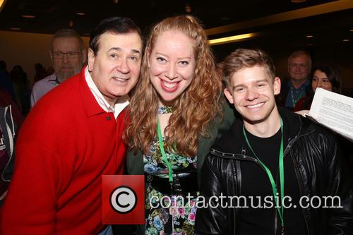 Lee Roy Reams, Jennifer Ashley Tepper and Andrew Keenan-bolger 1