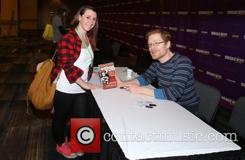 Broadway Fan and Anthony Rapp 1