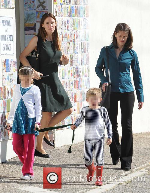 Jennifer Garner, Seraphina Rose Elizabeth Affleck and Samuel Garner Affleck 8