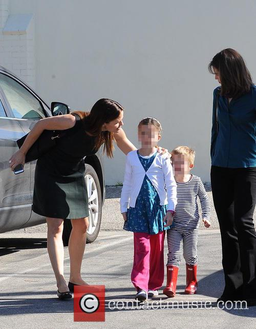 Jennifer Garner, Seraphina Rose Elizabeth Affleck and Samuel Garner Affleck 11