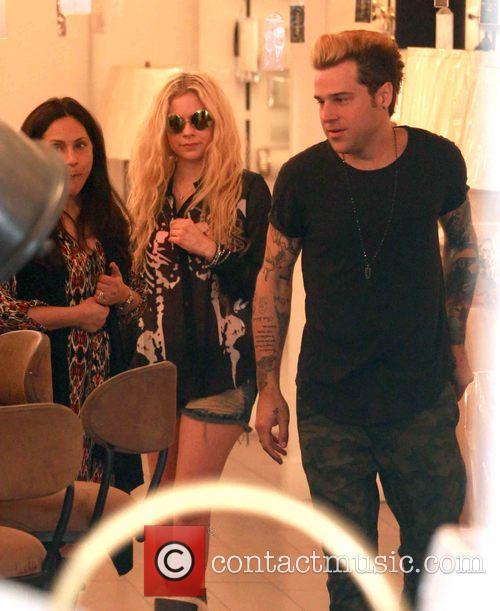 Avril Lavigne and Ryan Cabrera 6