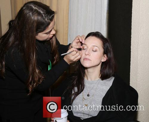 Make-up Artist Margie Bresciani and Lena Hall 1