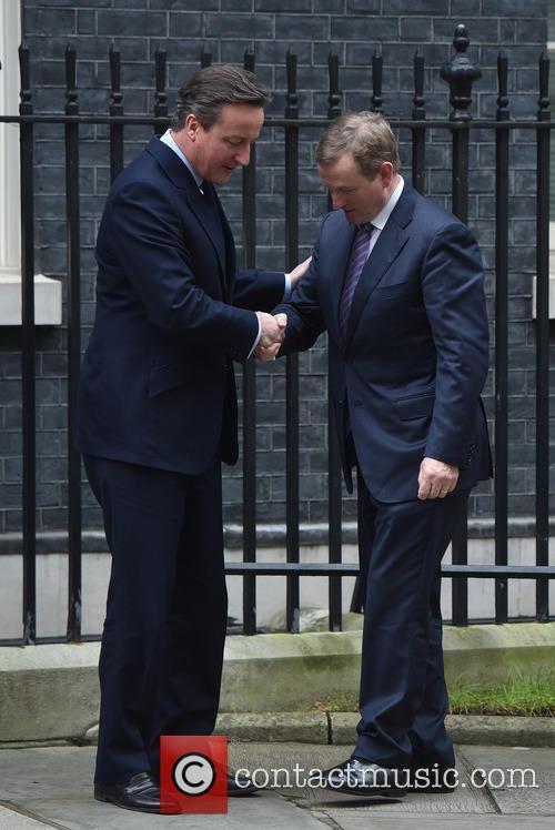 David Cameron and Enda Kenny 10