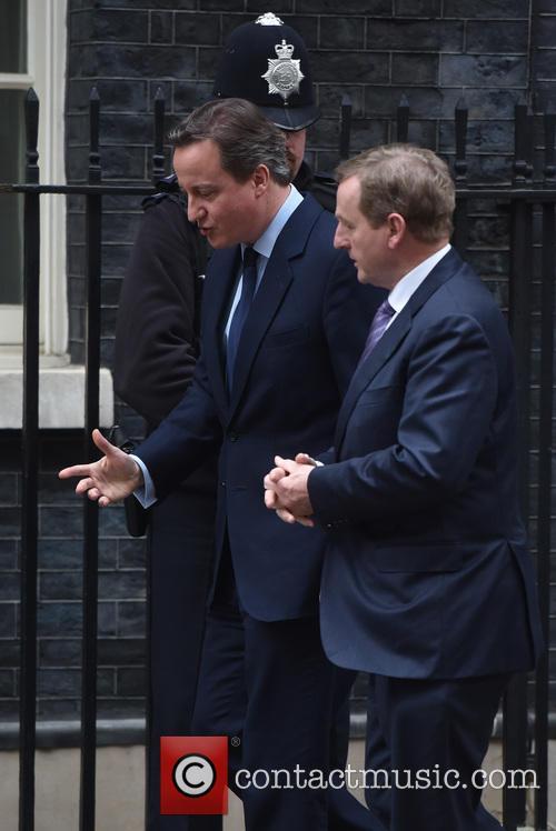 David Cameron and Enda Kenny 11