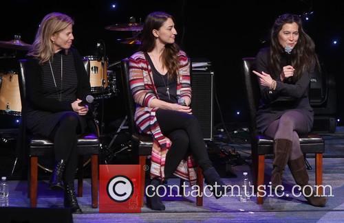 Jessie Nelson, Sara Bareilles and Diane Paulus 2