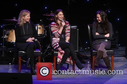 Jessie Nelson, Sara Bareilles and Diane Paulus 4