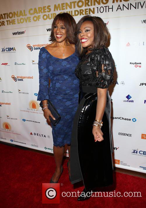 Gayle King and Guest 1