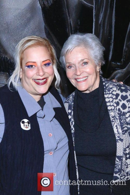 Sky Palkowitz and Lee Meriwether 3