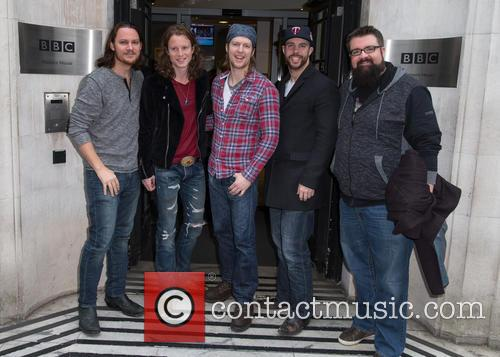 Home Free, Austin Brown, Rob Lundquist, Chris Rupp, Tim Foust and Adam Rupp 1