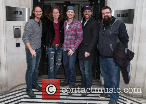 Home Free, Austin Brown, Rob Lundquist, Chris Rupp, Tim Foust and Adam Rupp 2