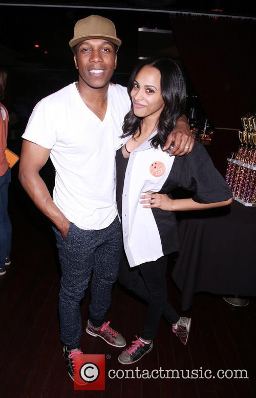 Leslie Odom Jr. and Nicolette Robinson 1