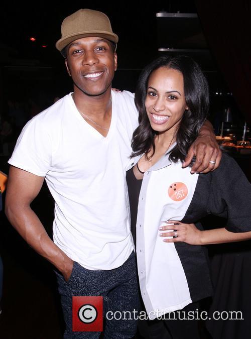 Leslie Odom Jr. and Nicolette Robinson 2
