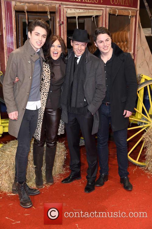 Son Ben, Sharon Brauner, Michael Zechbauer and Son David 1