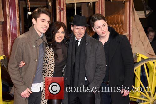 Son Ben, Sharon Brauner, Michael Zechbauer and Son David 2