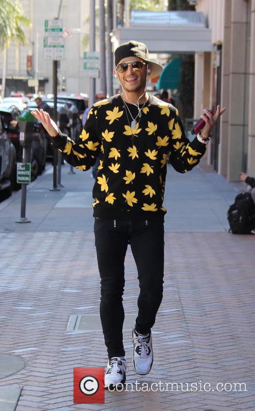 Frankie Grande out and about in Beverly Hills