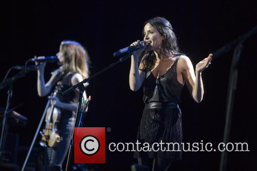 Andrea Corr and Sharon Corr 6
