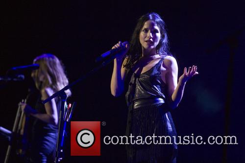 Andrea Corr and Sharon Corr 7