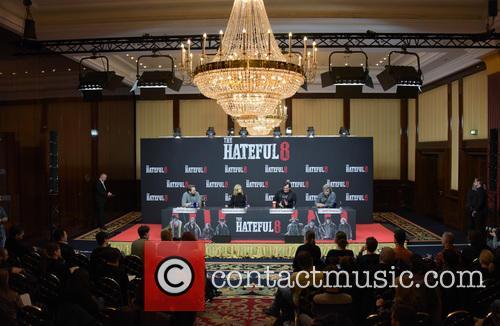 Jennifer Jason Leigh, Quentin Tarantino, Kurt Russell and Steven Gaetjen 8