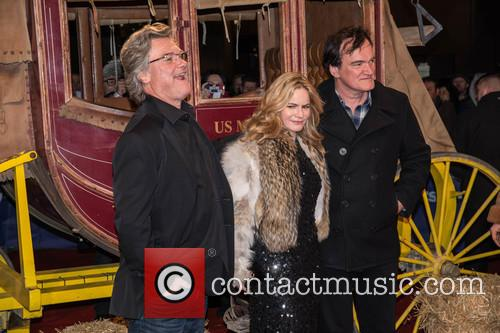 Kurt Russel, Jennifer Jason Leigh and Quentin Tarantino 10
