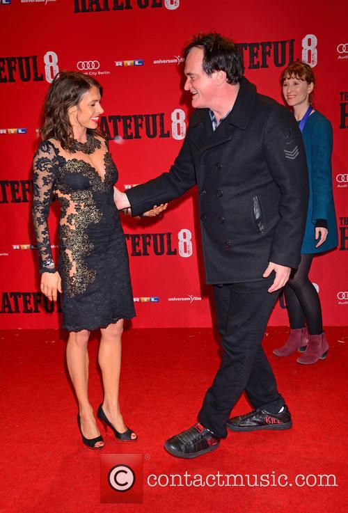Jana Pallaske and Quentin Tarantino 9
