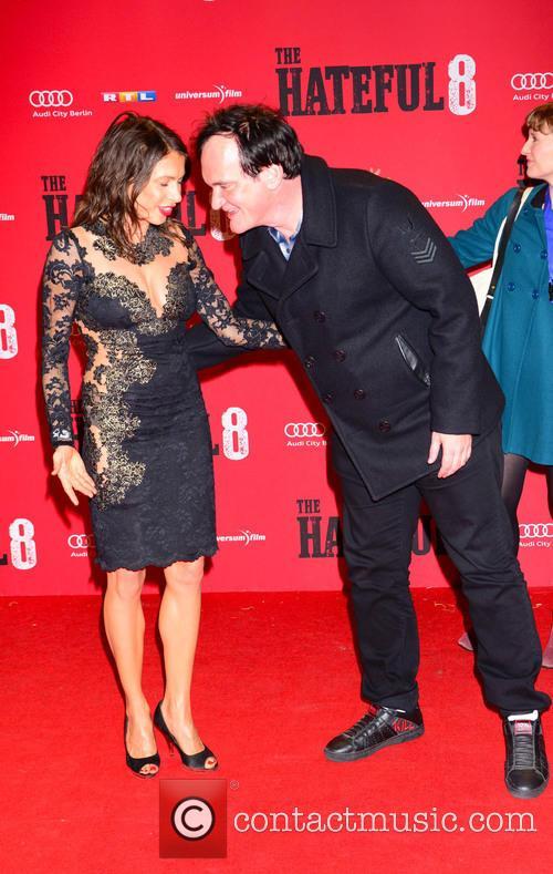 Jana Pallaske and Quentin Tarantino 10