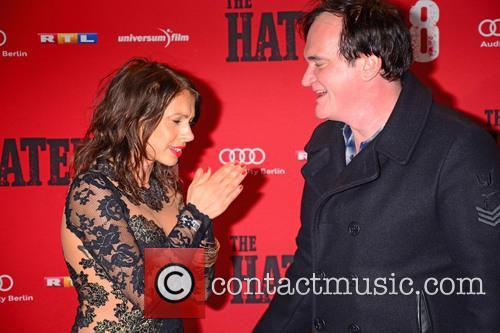 Jana Pallaske and Quentin Tarantino
