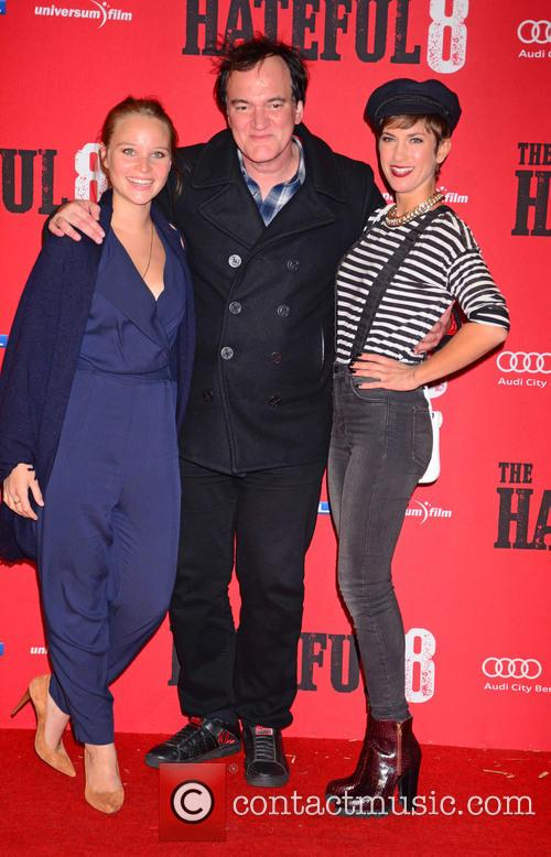 Sonja Gerhardt, Quentin Tarantino and Isabell Horn 8