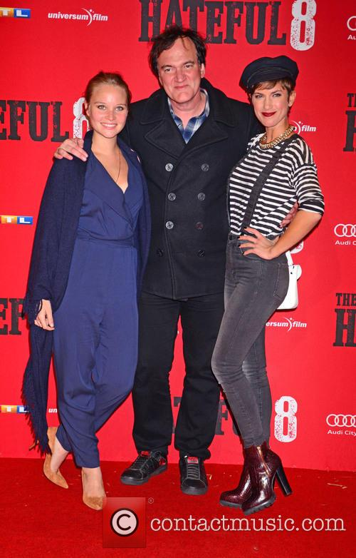 Sonja Gerhardt, Quentin Tarantino and Isabell Horn 9
