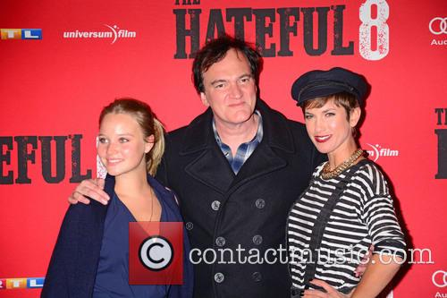 Sonja Gerhardt, Quentin Tarantino and Isabell Horn 10