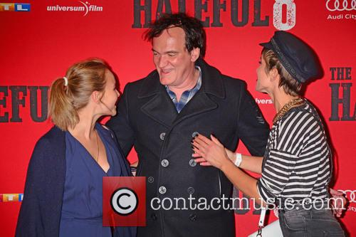 Sonja Gerhardt, Quentin Tarantino and Isabell Horn 11