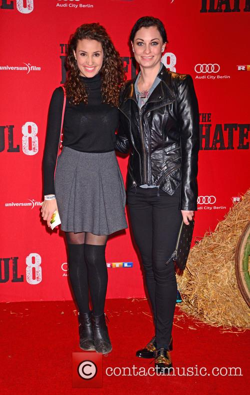 Nadine Menz and Lina Van De Mars 1