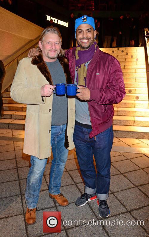 Frank Kessler and Patrice Bouedibela 3