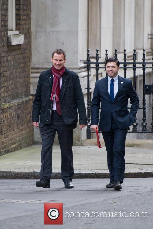 Jeremy Hunt Mp(left), Secretary Of State For Health, Stephen Crabb Mp and Secretary Of State For Wales 1