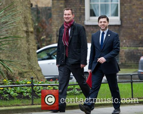 Jeremy Hunt Mp(left), Secretary Of State For Health, Stephen Crabb Mp and Secretary Of State For Wales 2