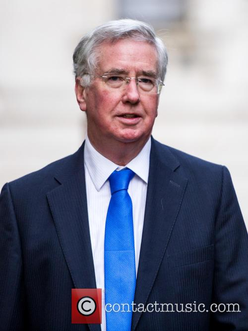 Michael Fallon Mp and Secretary Of State For Defence 2