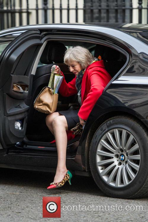 Theresa May and Secretary Of State For The Home Department 2