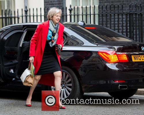 Theresa May and Secretary Of State For The Home Department 5