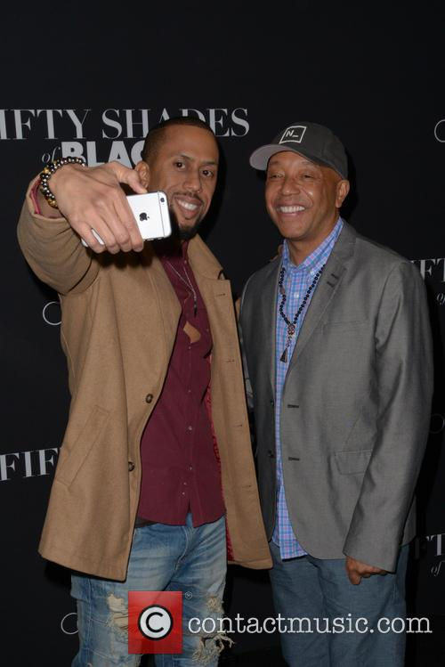 Affion Crockett and Russell Simmons