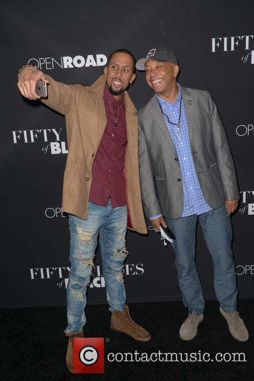 Affion Crockett and Russell Simmons 6