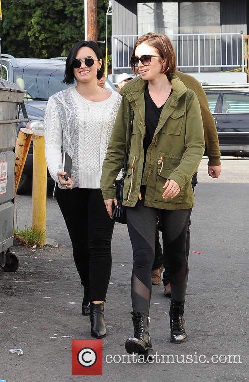 Lily Collins and Demi Lovato 3