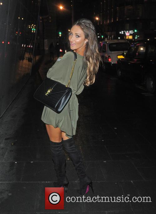 Big Brother star Megan McKenna seen leaving W...