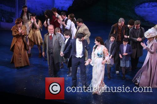 Kelsey Grammer, Tony Yazbeck and Laura Michelle Kelly 3