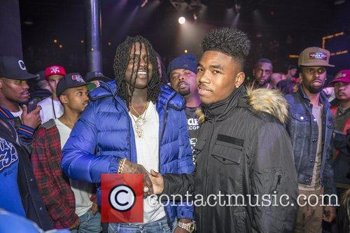 Chief Keef and Lil Caine 1