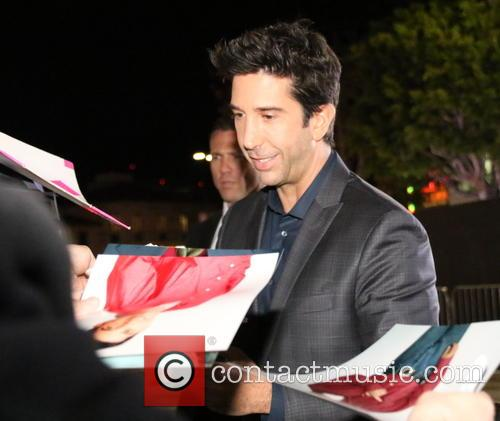 David Schwimmer arrives for the premiere of 'The...