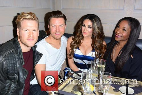 Guest, Sam Dowler, Casey Batchelor and Karen Bryson 1