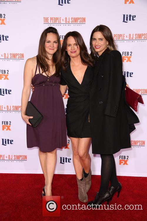 Carla Gallo, Elizabeth Reaser and Amanda Peet 2