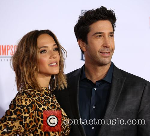 Zoe Buckman and David Schwimmer 2