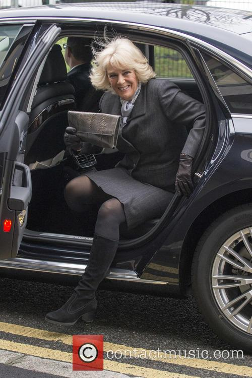 The Duchess of Cornwall visits the national charity...