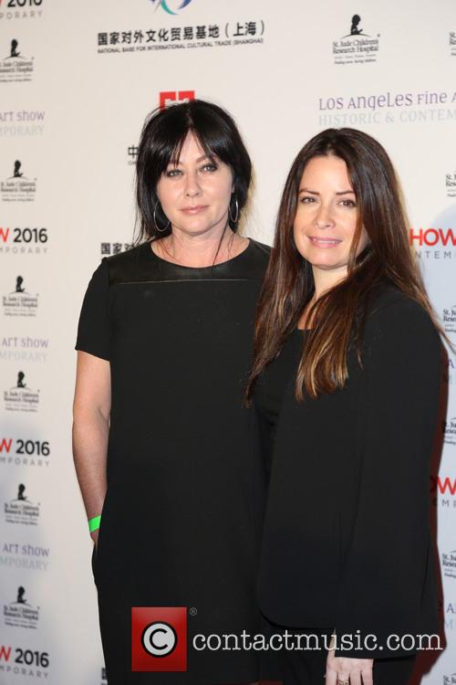 Shannen Doherty and Hollie Marie Combs